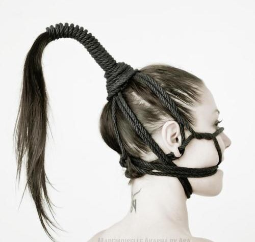 Hair bondage. 3 basic techniques to start with!