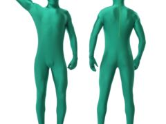 Zentai as a method of wearing second skin